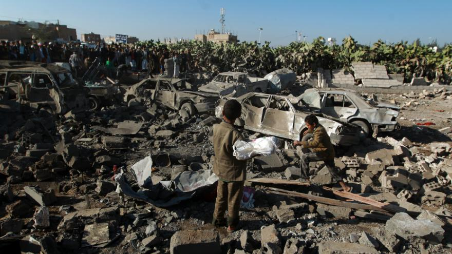 Saudi-Led Coalition Bombs Yemen Wedding with US Weapons, Killing 131 Civilians