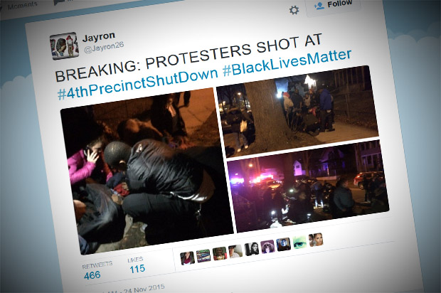 Five people shot at Black Lives Matter protest in Minneapolis: Police