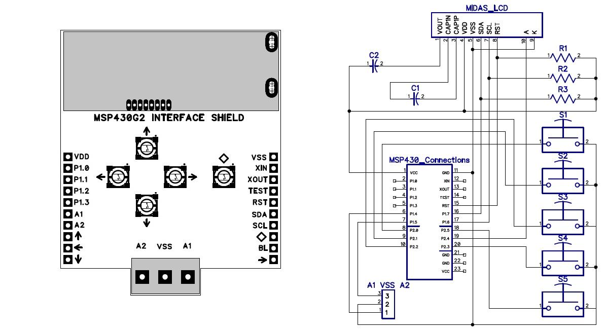 Lcd Circuit Diagram Wiring Schematic Diagram