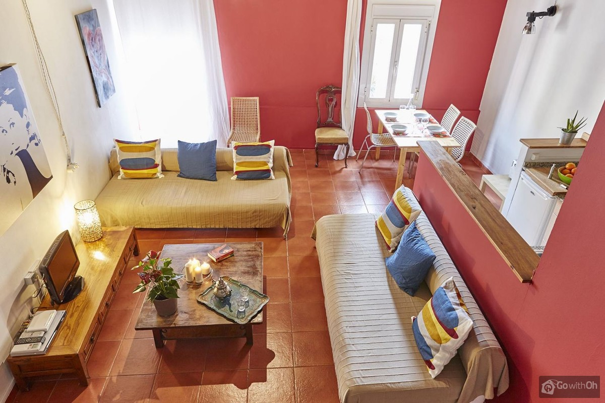 Schlafzimmer-set Petroia Holiday Apartments Barcelona Duplex Flat In Gothic Quarter