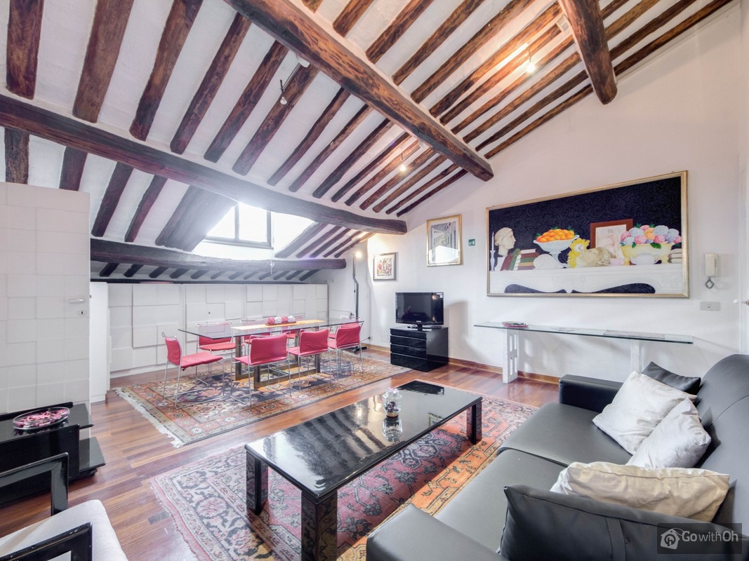A Plus Keuken Tienen Stunning Loft Apartment 8 Minutes From Piazza Navona