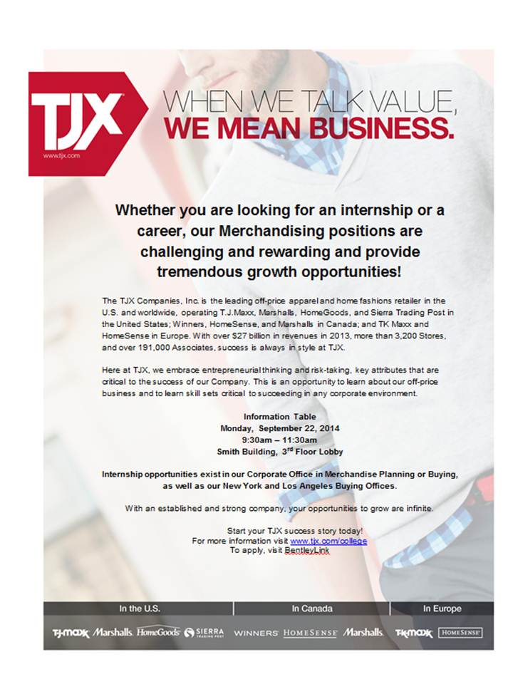 Are you looking for an Internship or Career in Merchandising - looking for an internship