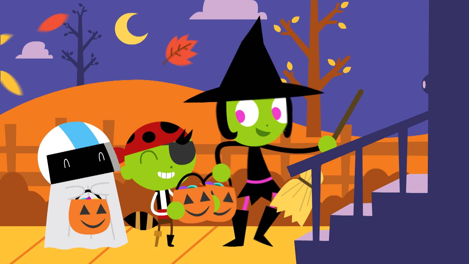 Kentucky Fall Wallpaper 2017 Pbs Kids Announces New Halloween Programming