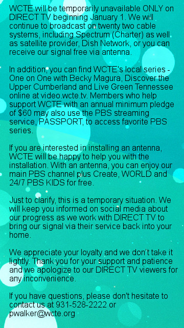 DirecTV WCTE