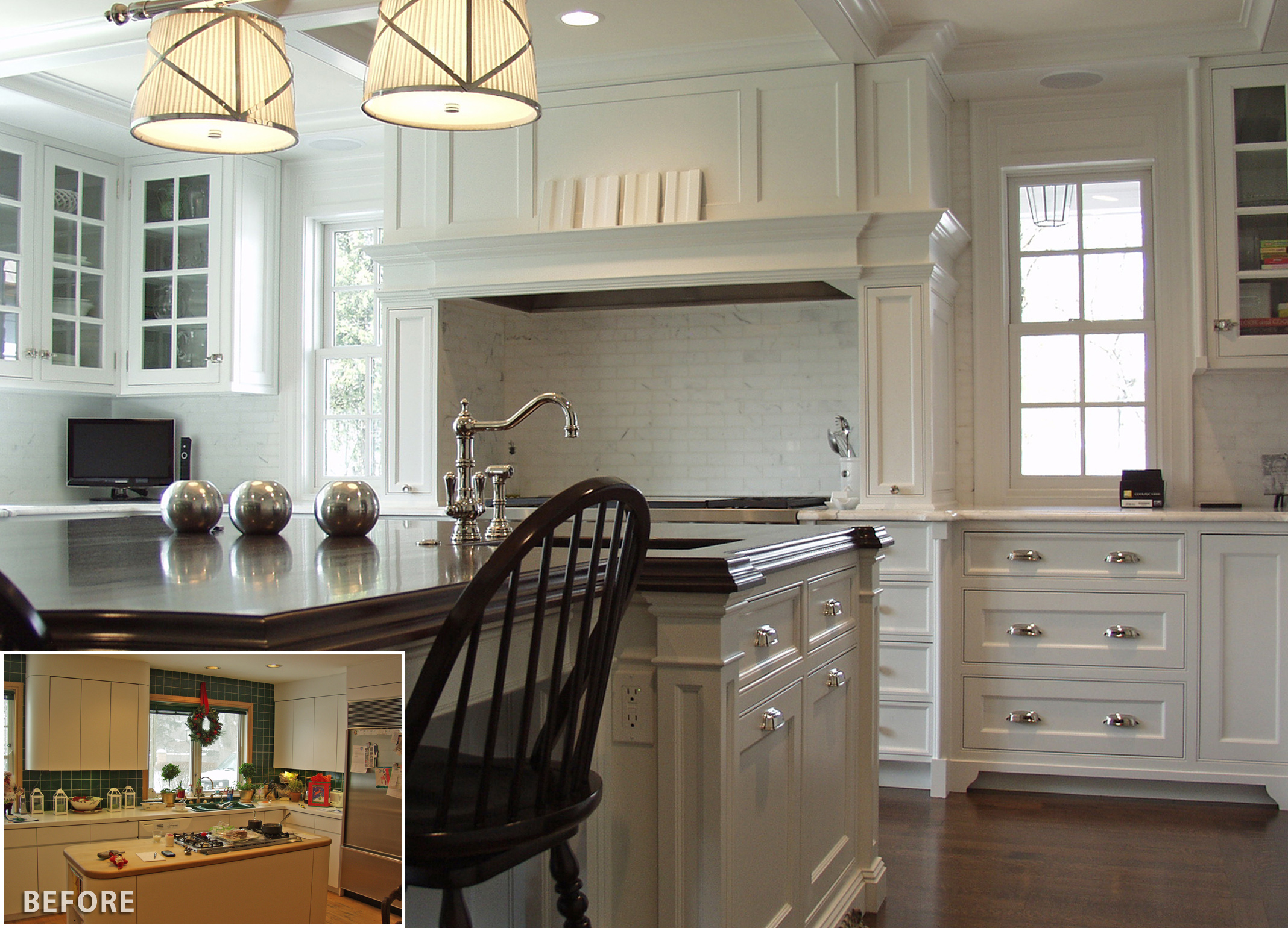 Kitchen Redesign Pictures North Shore Kitchen Remodels Before And After Benvenuti