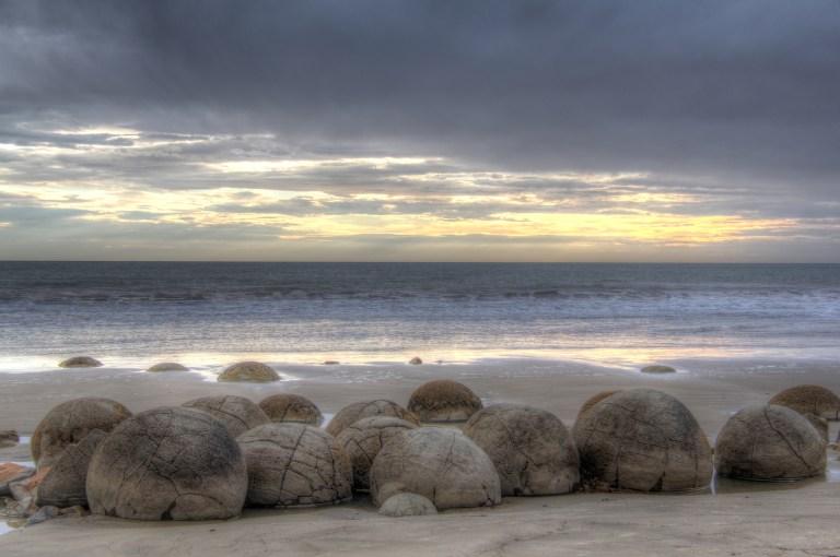Neuseeland - Moeriaki-Boulders