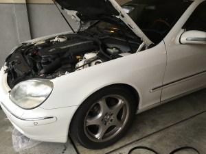 W220出張修理