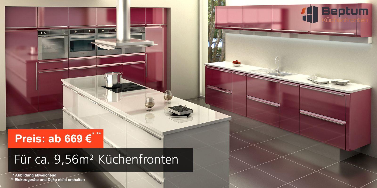 Küchenfronten Selbst Erneuern | Awesome Küchenlampen Decke Led ...