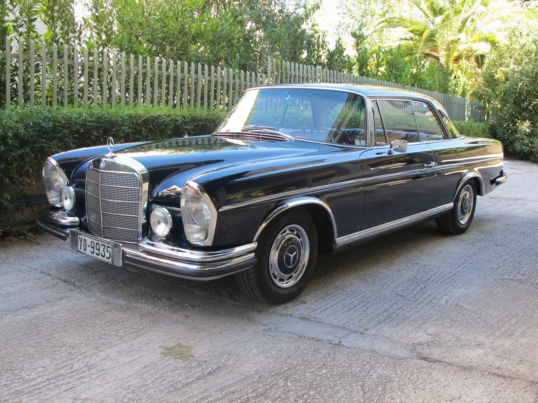 Codigo Pintura The Mercedes 250 Se Coupé Is A Roller Byron Riginos Weblog