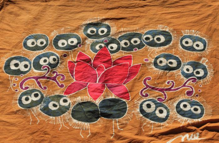 batik susuwatari lotus