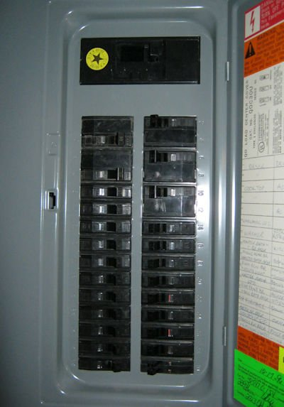 Electric Main Fuse Box Wiring Diagram