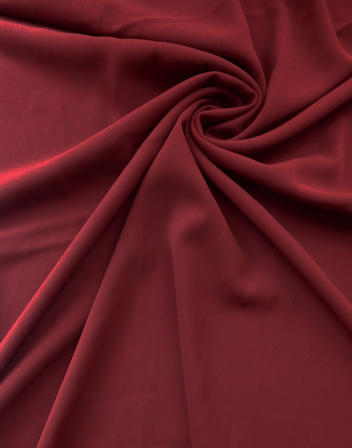 Designer Bordeaux Odessa Stretch Crepe : Texture - Wholesale Apparel Fabric