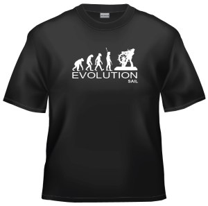 Evolution Sailor captain skipper t-shirt
