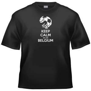 2014 World Cup Football - Keep Calm We Are Belgium t-shirt