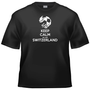 Swiss Football - Keep Calm We Are Switzerland t-shirt