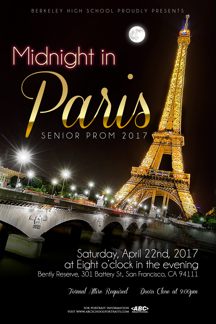 PROM 2017 tickets on sale now \u2013 Berkeley High ASB Leadership