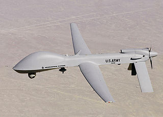 Military drone. Photo courtesy of Wikimedia Commons.