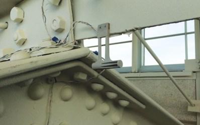 One of 400 sensors stationed around the KieranTimberlake office.