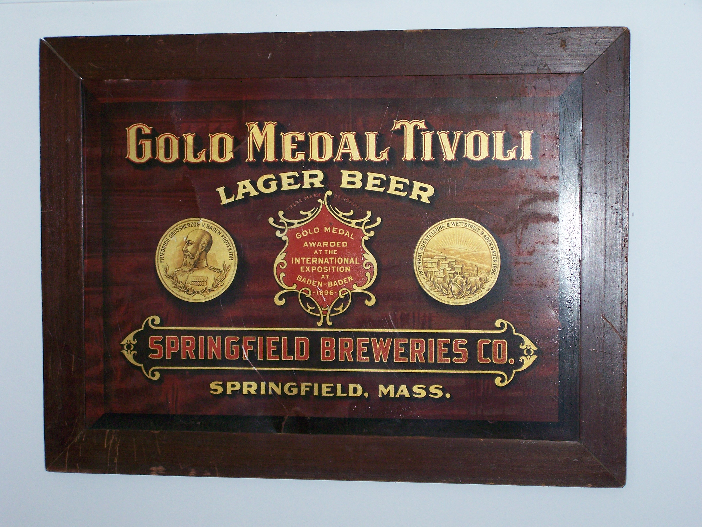 Tivoli Golden Tower Beer Other Breweriana