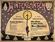 Wintergarten Plakat