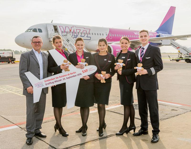 Wizz Air nimmt neue Route ab Georgien auf