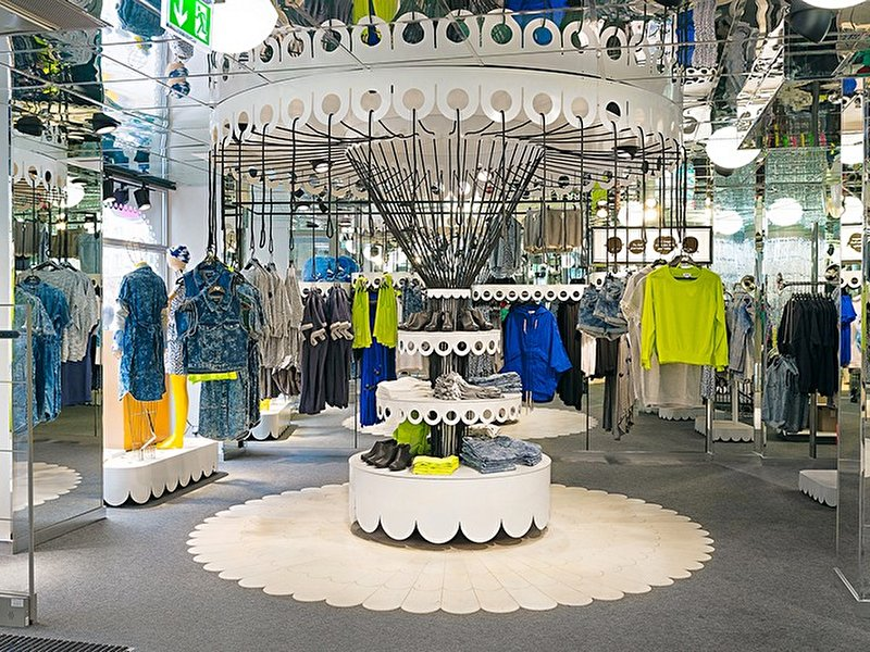 Schmuck Skandinavisches Design Monki Concept Store In Der East Side Mall – Berlin.de