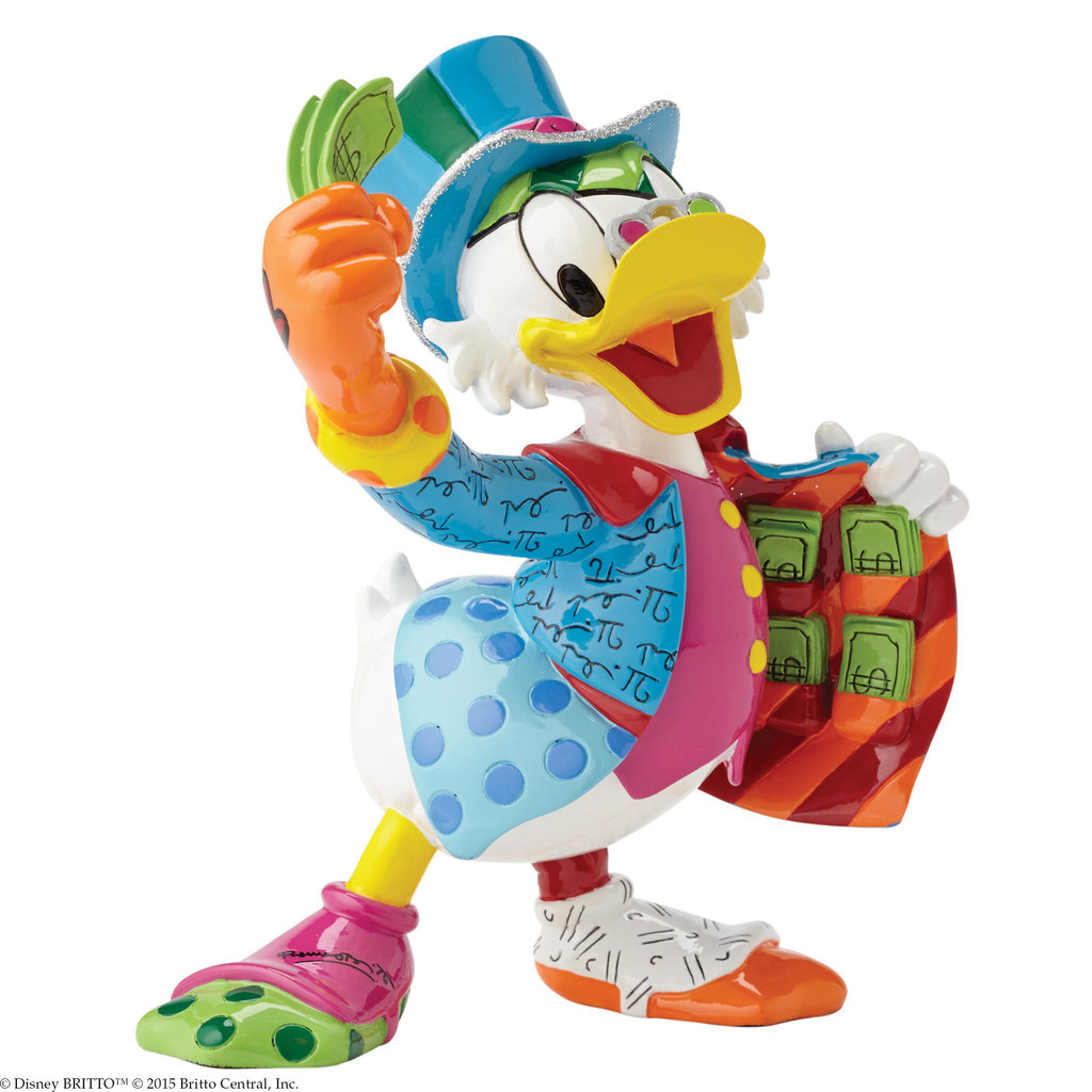 Elefant Poster Dagobert Duck Figur Britto Disney Figur Im Berlin Deluxe Shop