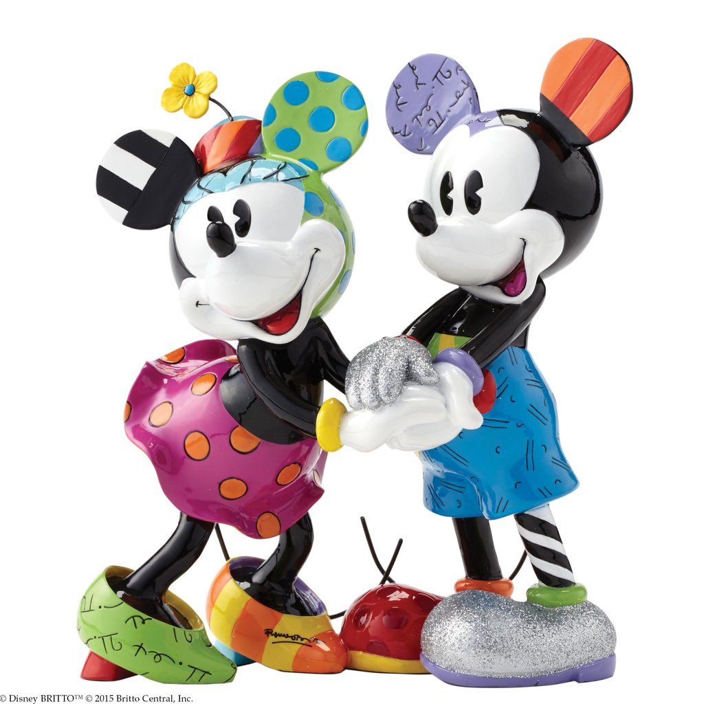 Salz Und Pfefferstreuer Design Mickey & Minnie Figur - Limitierte Sonderedition Disney By