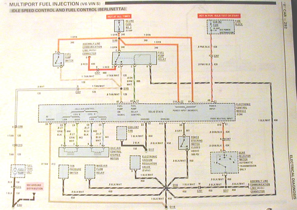 wiring diagram for 1991 trans am