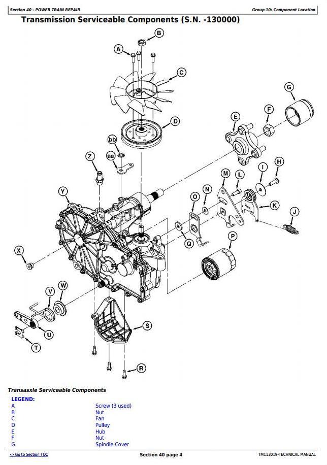 john deere eztrak z445 wiring diagram