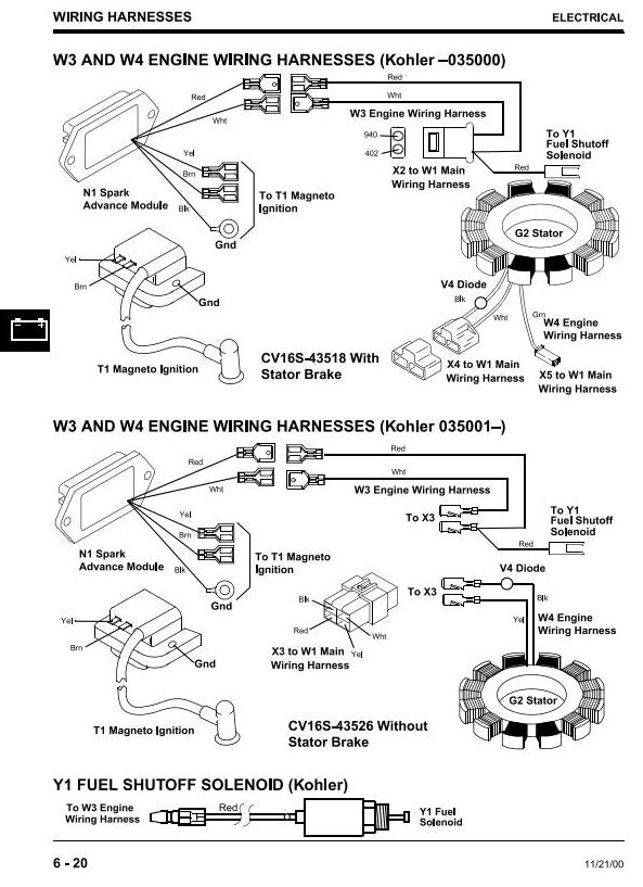 For Scotts S2046 Lawn Tractor Wiring Diagram Scotts S2048 Lawn