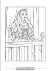 Lembar Mewarnai Putri 01
