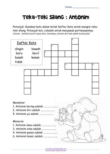 TTS untuk Anak Seri Antonim