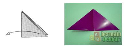 Membuat Origami Bunga Tulip c