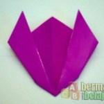 Membuat Origami Bunga Tulip
