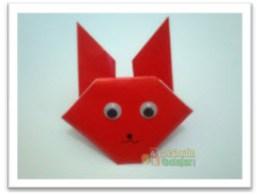 Membuat Origami Kelinci