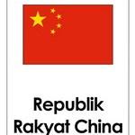 Flashcards Gratis: Bendera Negara di Asia Timur