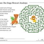 Maze: Ibu Singa Mencari Anaknya