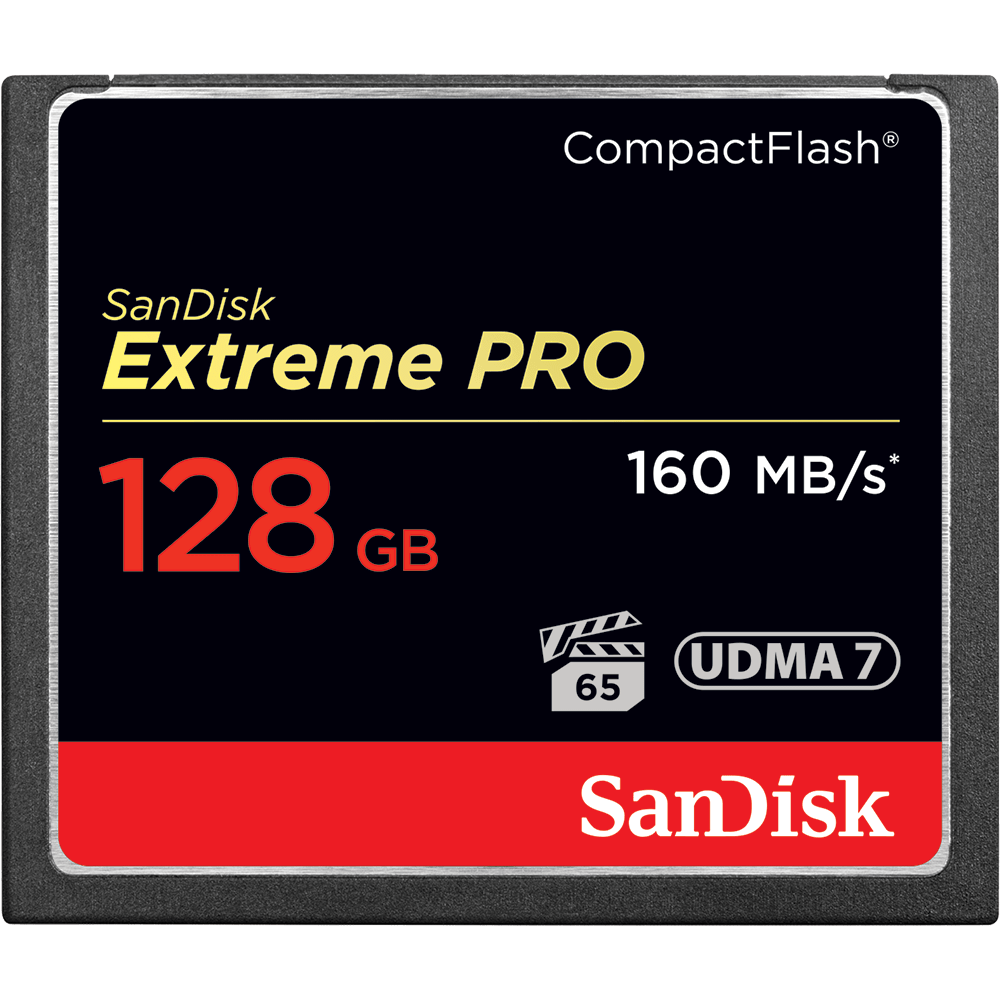 Compact Flash Sandisk 128gb Extreme Pro Compact Flash | Memory Card