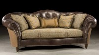 Sofas With Leather And Fabric  TheSofa