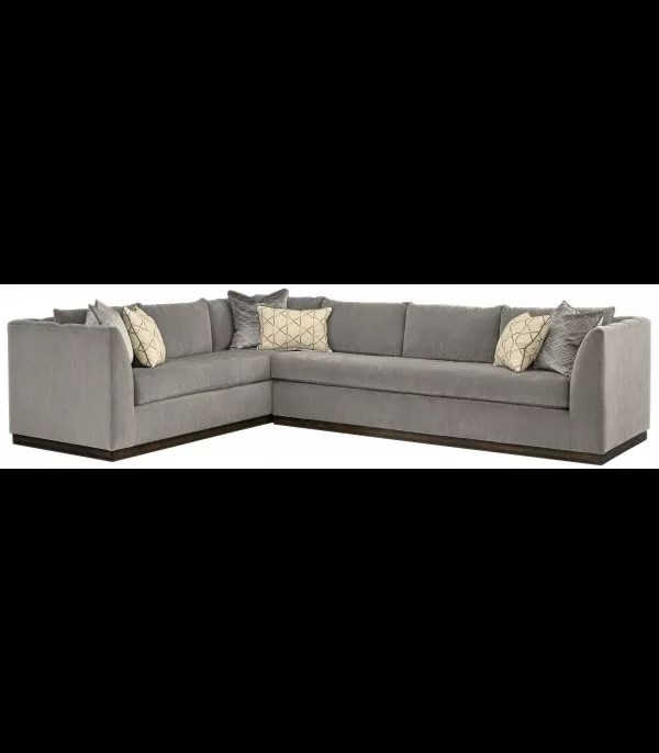 Perfectly Modern Sectional Sofa