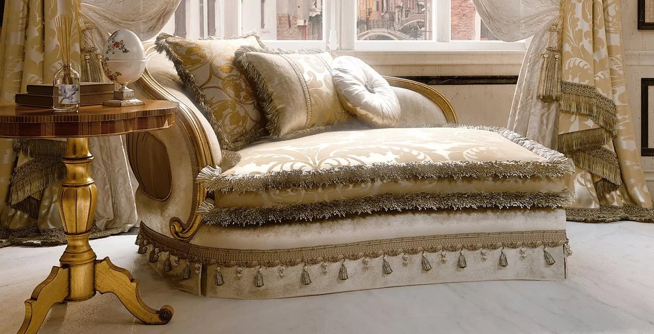Furniture Chaise Furniture Masterpiece Collection Luxury Chaise Lounge