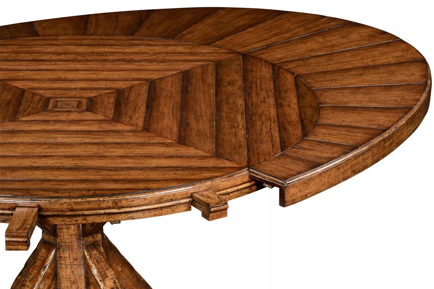 Oval Distressed Wood Dining Tables