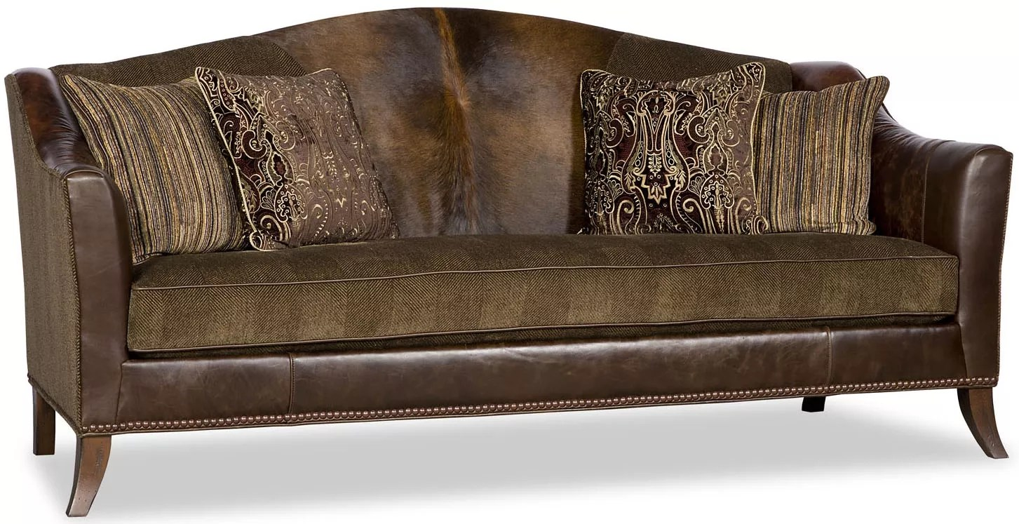 Curved Sofa Upholstered Curved Sofa