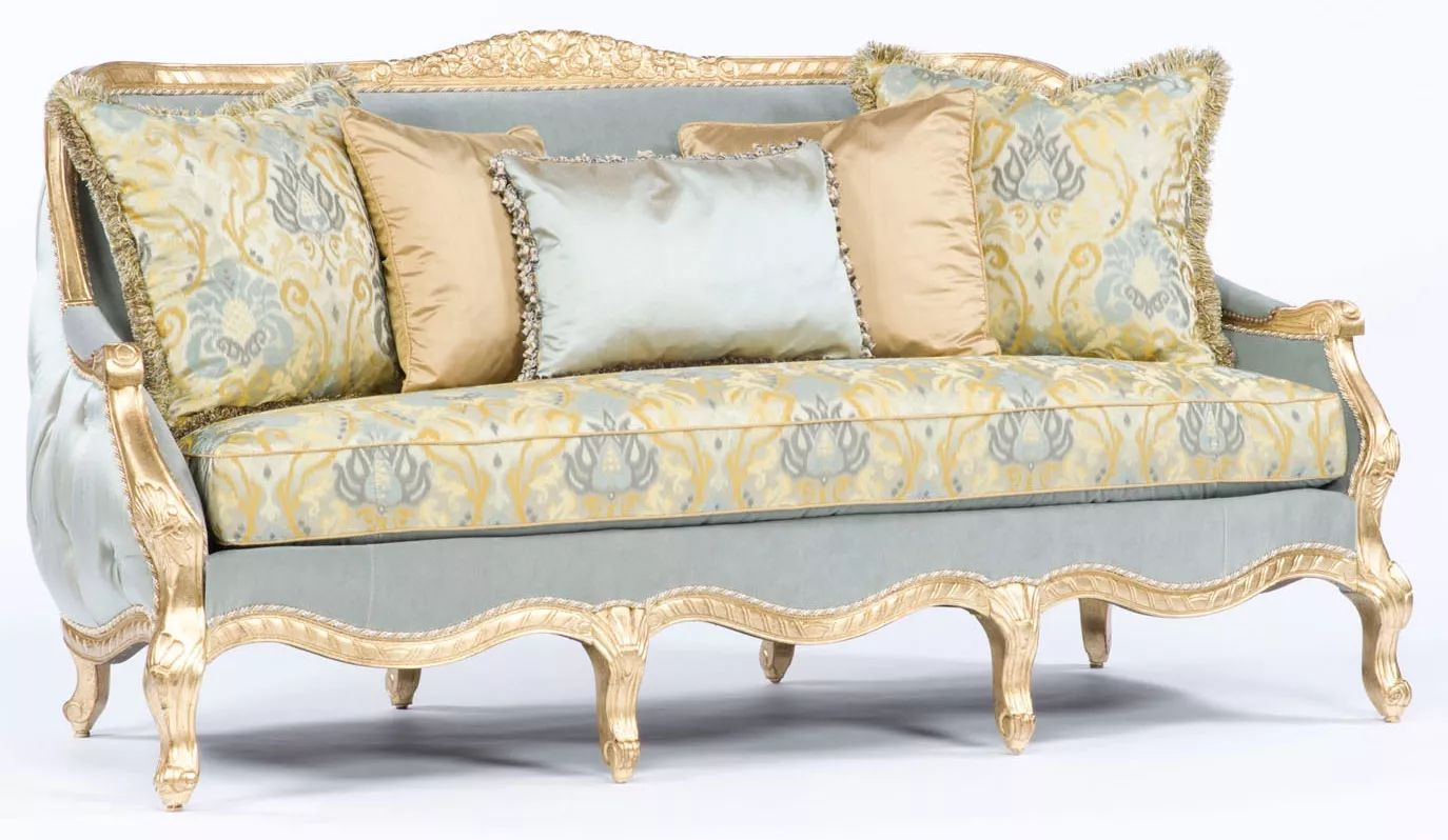Sofa couch loveseat french style sofa tufted luxury furniture