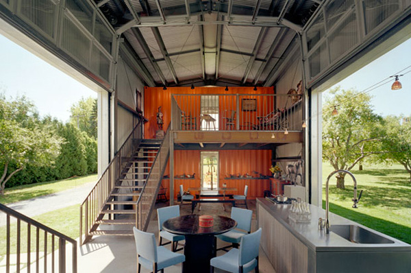 Container Home Interior 1