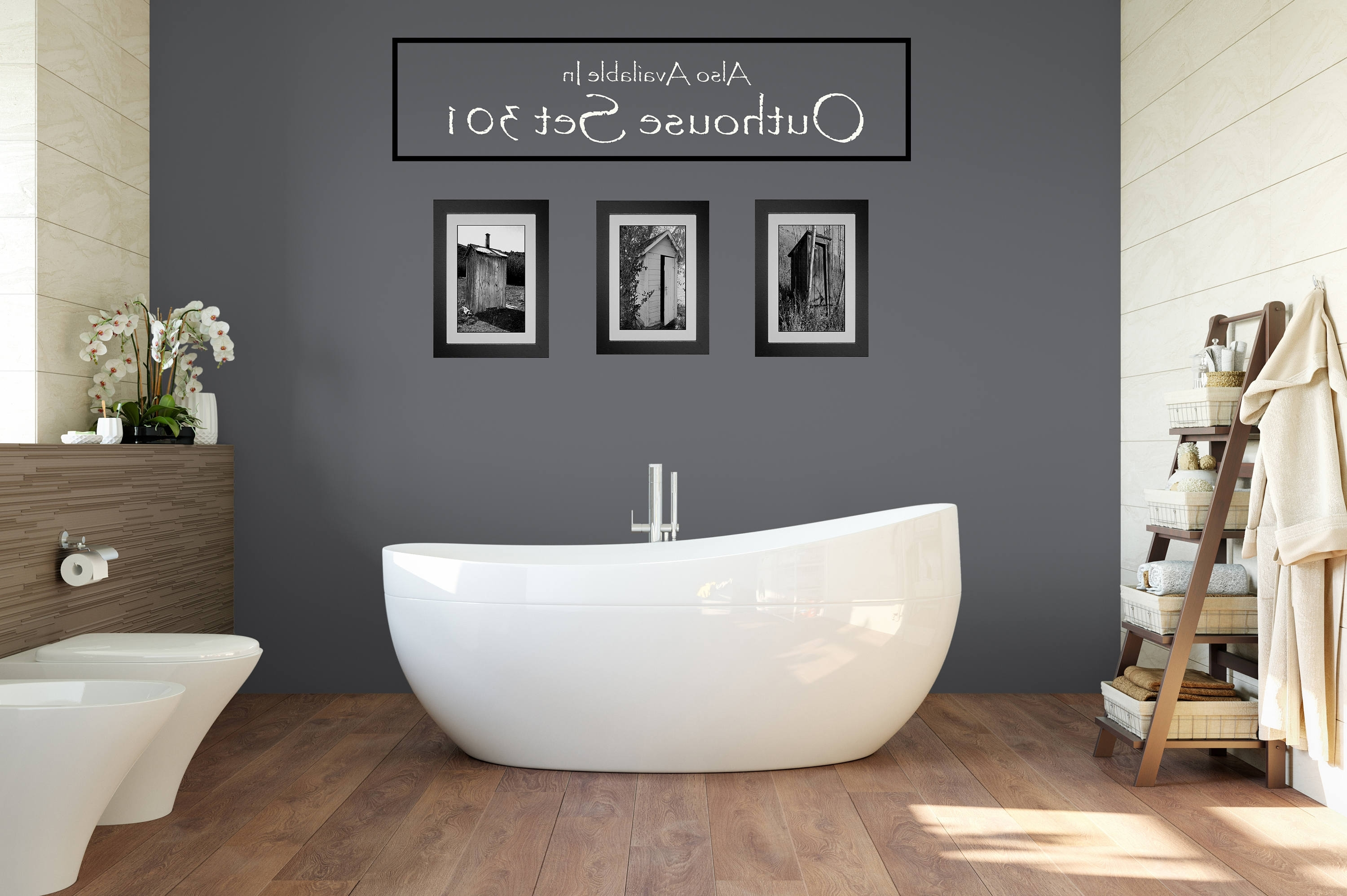 Bathroom Wall Art And Decor 2018 Popular Red Bathroom Wall Art