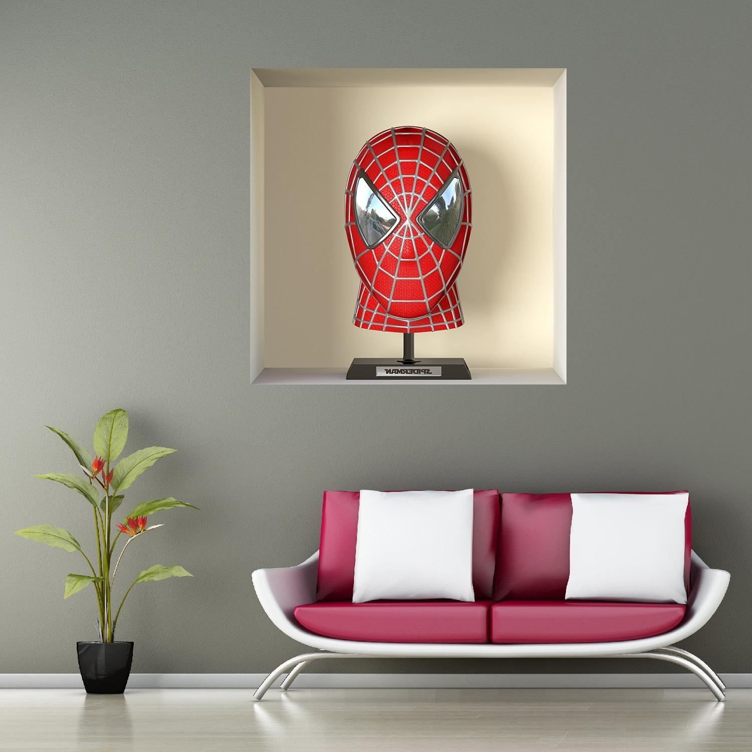 3d Wall Art Night Light 15 Best Ideas Of 3d Wall Art Night Light Spiderman Hand