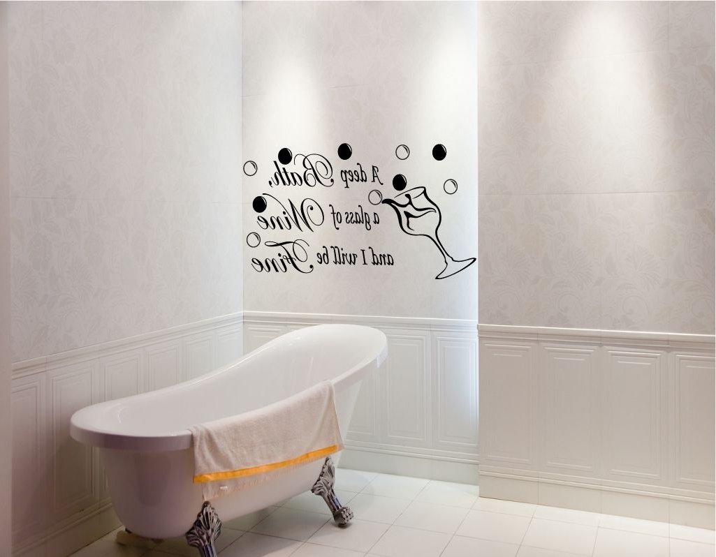 Contemporary Bathroom Wall Decor Best 15 43 Of Contemporary Bathroom Wall Art