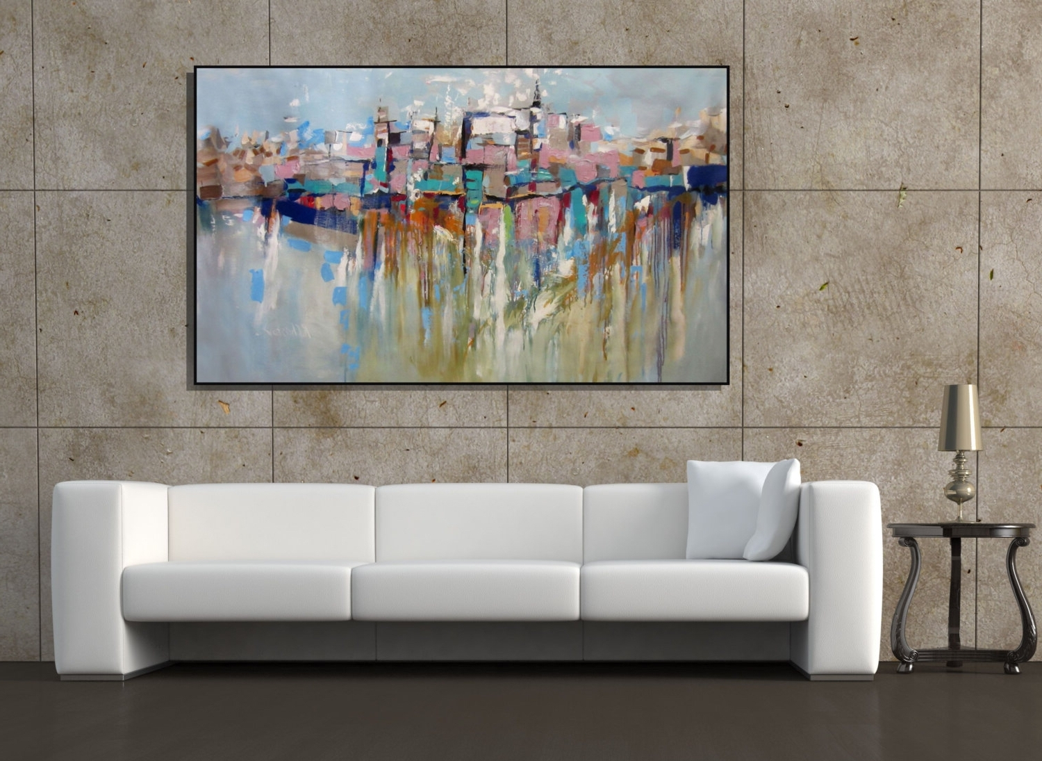 Oversized Modern Wall Art 15 Best Large Framed Abstract Wall Art